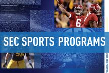 Southeastern Conference (SEC) / Official Southeastern Conference Sports Publications, produced by IMG College. #SEC