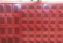 Brighton High School - Thornton, CO #DeBourgh #Lockers / #AngleIron #MaroonPeaks #SentryOneLatch #DiamondPerforation #5KnuckleHinge #SlopeTop #Lockers #DeBourgh