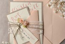 Colour Board - Peach Wedding Inspiration