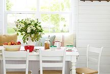 Decor I adore:  Breakfast Nook / by The Cottage Market