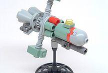 Tiny Lego Spaceships