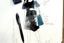 MEKEL what i wore to draw / WIW what i wore fashion / by Mekel Fashion Illustration
