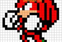 Retro Pixels stuff / Art - DIY - Patterns - Decoration ect / by Sandra