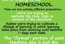Homeschooling / by Amanda Hersh