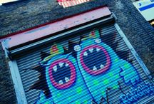 Worldwide Street Art / The streets are the new galleries. Art for the masses on every street corner.