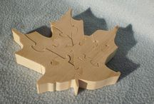 Canada Day Wooden