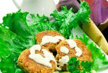 Falafel! / Various recipes featuring falafel.