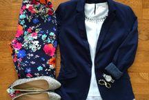 Outfits con saco azul marino
