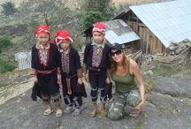 Sapa / Set high in Vietnam, Northeast Mountains, the hamlet of Sapa offers spectacular view of jagged mountain ridges, terraced rice paddies and green valleys inhabited by people of various ethnic minority groups, most of whom congregate in Sapa, colorful market.