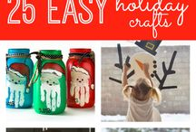 Easy Holiday Kids Crafts