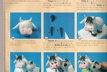 lehmät fondant