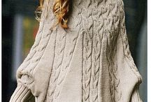Knitting Patterns oversize jumper