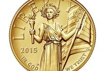 2015 High Relief 24K Gold Coin / by United States Mint