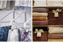 Idéias de organização para a casa