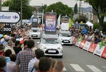 DS 3 & Char - TDF 2012 / Découvrez les véhicules de la Caravane ALCATEL ONE TOUCH 2012 !