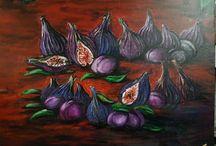 *Art work from Alena Gorshkova. Oil and acryl*