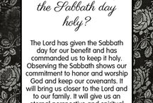Sabbath/verses