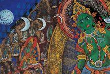 Thamka , Arte Budista