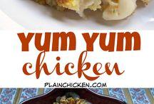 Chicken Stuffing dish