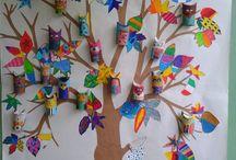 kierrätystaide-ideat lasten kanssa