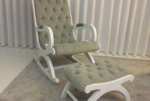 Cadeiras baloiço