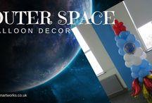 Outer Space Balloon ideas