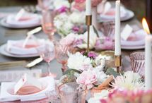 Wedding Tablescapes / Table Design | Wedding Decor | Wedding Tablescape Design | Set a Table | Wedding Place Settings