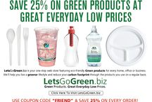 Go Green in 2016! / Eco friendly products for home, office, business and food service