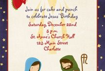 Happy Birthday Jesus printables and party decorations