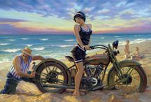 David Uhl and other bike art. / by Corrie Jorna