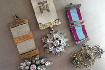 brooches and badges