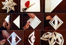 origami a papírové ozdoby