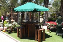 Garden and Wine Barrel Furniture