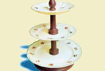 decoracion con platos