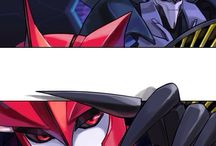 Starscream and Knock Out