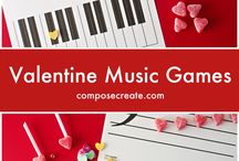 Valentine's Music Activities / This board is dedicated to Valentine's activities to teach any musical concept in the classroom or choir.