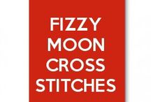 fizzy moon cross stitches