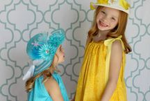 Easter Ideas / What a beautiful time of year! Complete with Easter Bonnets. Bunny Ears, recipes and crafts!
