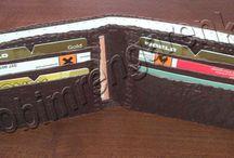 Deri Erkek Cüzdanı-Men's Leather Wallet