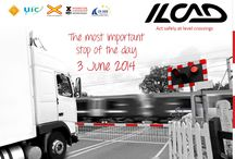 International Level Crossing Awareness Day 2014 / Photos and resources about the June 3, 2014 observance of International Level Crossing Awareness Day! This year's effort will emphasize outreach to professional drivers of trucks and buses.