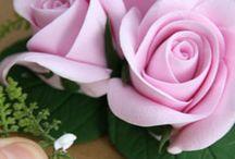Цветы из ПГ  и ХФ