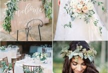 Wedding flowers and decor