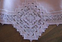 White work Needle lace