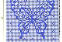 vlinder haakwerk