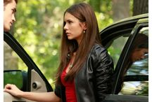 The Vampire Diaries Television Series Nina Dobrev Jacket / The Vampire Diaries is a supernatural drama television series developed by Kevin Williamson and Julie Plec, based on the book series of the same name written by L. J. Smith. The series premiered on The CW on September 10, 2009.