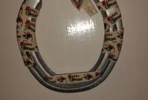 upcycled horseshoes / upcycled horseshoes.