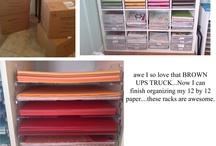 Stampinup Storage