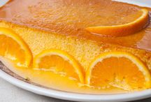 flan naranjas