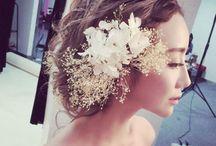 白無垢 髪型