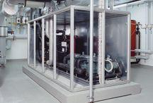 Pompy ciepła dużej mocy / Pompy ciepła dużej mocy do 2.000 kW - z możliwością zastosowania dla każdego zastosowania i dla różnych dolnych źródeł ciepła